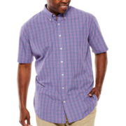 The Foundry Supply Co.™ Short-Sleeve Woven Shirt - Big & Tall