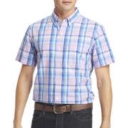 IZOD® Saltwater Plaid Sportshirt