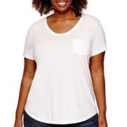 Stylus™ Short Sleeve Voop T-Shirt - Plus