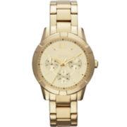 Relic® Payton Womens Gold-Tone Multifunction Watch