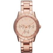 Relic® Payton Womens Rose-Tone Multifunction Watch