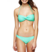 Arizona Solid Bandeau Swim Top or Bottoms