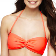 Arizona Solid Bandeau Swim Top