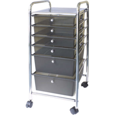 jcpenney.com | Cropper Hopper Smoke 6-Drawer Rolling Cart