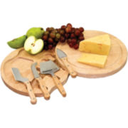 Picnic Time Circo Cheese Board with Tools