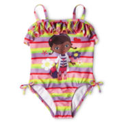 Disney Doc McStuffins 1-Piece Swimsuit - Girls 2-10