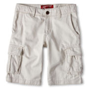 Arizona Solid Cargo Shorts - Boys 6-18