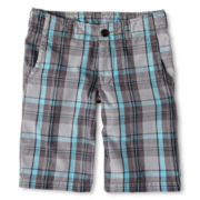 Arizona Plaid Chino Shorts - Boys 6-18