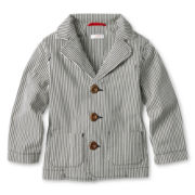 Joe Fresh™ Striped Seersucker Blazer - Boys 1t-5t