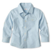Joe Fresh™ Blue Checked Shirt - Boys 1t-5t