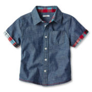 Joe Fresh™ Short-Sleeve Shirt - Boys 1t-5t