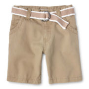 Joe Fresh™ Tan Shorts - Boys 1t-5t
