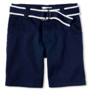 Joe Fresh™ Navy Shorts - Boys 1t-5t