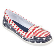 Arizona Sequin Harbor Boat Shoes