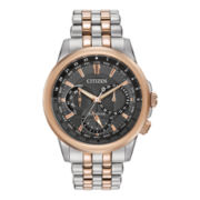 Citizen® Eco-Drive® Calendrier Mens Two-Tone Sport Watch BU2026-57H