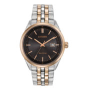 Citizen® Eco-Drive® Mens Two-Tone Stainless Steel Watch BM7256-50E
