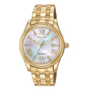 Drive from Citizen® Eco-Drive® Womens Bracelet Watch EO1142-57D