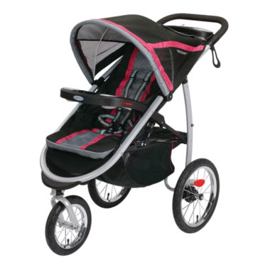 jcpenney.com | Graco® Fast Action™ Click Connect™ Jogging Stroller - Azalea