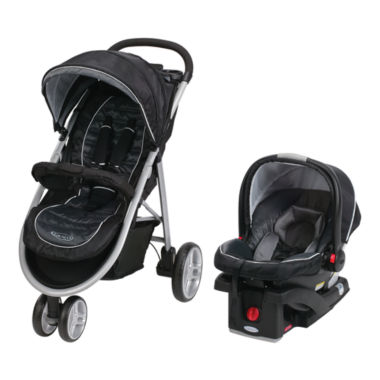 jcpenney.com | Graco® Aire 3 Click Connect™ Travel System - Gotham