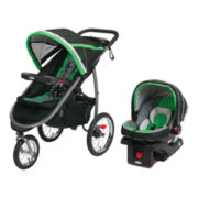 Graco® Fast Action™ Click Connect™ Jogger Travel System - Fern