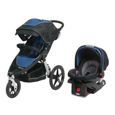 jcpenney.com | Graco® Relay Performance Jogger Travel System - Jaguar