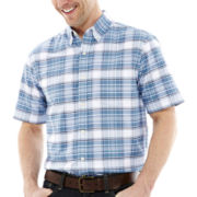 St. John's Bay® Short-Sleeve Easy-Care Oxford