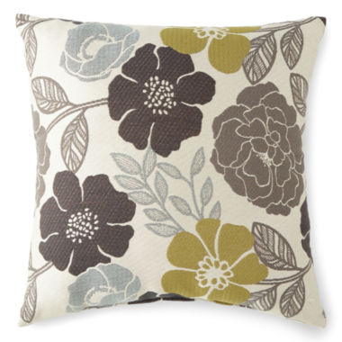 jcpenney.com | JCPenney Home™ Zoey Floral Decorative Pillow
