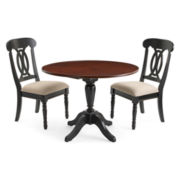 Raleigh 3pc Drop Leaf Dining Set