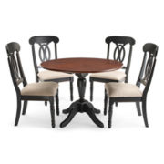 Raleigh 5pc Drop Leaf Dining Set