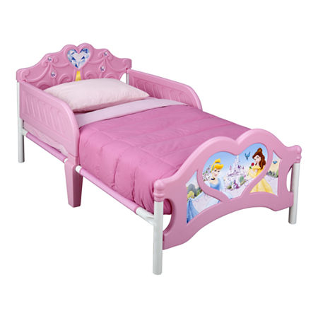 Delta Children's Products Disney Princess 3D Toddler Bed