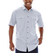 The Foundry Supply Co.™ Short-Sleeve Modern Woven Shirt–Big & Tall