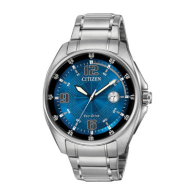 jcpenney.com | Drive from Citizen® Eco-Drive WDR Mens Stainless Steel Watch AW1510-54L