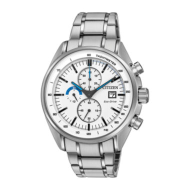 jcpenney.com | Drive from Citizen® Eco-Drive HTM Mens Stainless Steel Chronograph Watch CA0590-82A