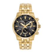 Citizen® Eco-Drive Calibre 8700 Mens Gold-Stainless Steel Perpetual Calendar Chronograph Watch