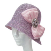 Whittall & Shon Jeweled Cloche Hat