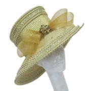 Whittall & Shon Studded Long-Brim Hat