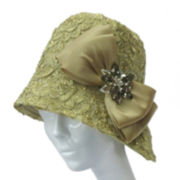 Whittall & Shon Embroidered Cloche Hat
