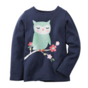 Carter's® Owl Graphic Tee - Preschool Girls 4-6x