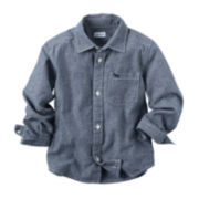Carter's® Long-Sleeve Chambray Shirt - Preschool Boys 4-7