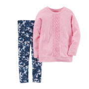 Carter's® Long-Sleeve Top and Leggings Set - Toddler Girls 2t-5t