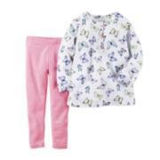 Carter's® Long-Sleeve Top and Leggings Set - Toddler Girls 2t-5t