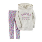 Carter's® Pullover Hoodie and Leggings Set - Toddler Girls 2t-5t