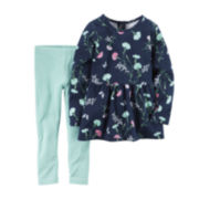 Carter's® Floral Tunic and Leggings Set - Toddler Girls 2t-5t