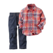 Carter's® Long-Sleeve Top and Jeans Set - Toddler Boys 2t-5t