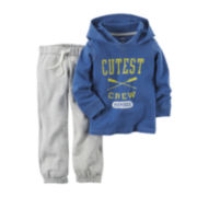 Carter's® Long-Sleeve Hoodie and Pants Set - Toddler Boys 2t-5t