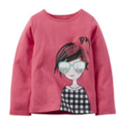 Carter's® Long-Sleeve Top - Preschool Girls 4-6x