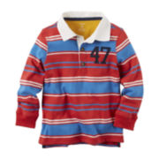 Carter's® Striped Long-Sleeve Top - Toddler Boys 2t-5t