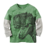 Carter's® Long-Sleeve Graphic Tee - Toddler Boys 2t-5t