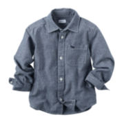 Carter's® Chambray Shirt - Toddler Boys 2t-5t