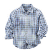 Carter's® Long-Sleeve Shirt - Toddler Boys 2t-5t